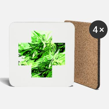 Perspective Green dimension - Coasters