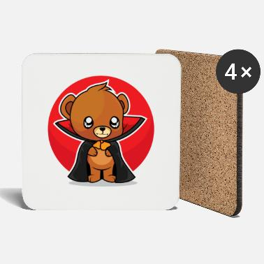 Count Royal Count Teddy Bear - Coasters