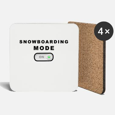 Mode Snowboard mode on mode on - Coasters