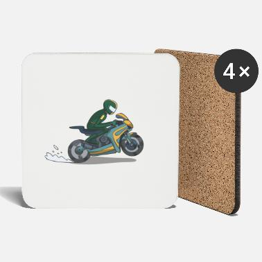 Motorcycle Race Motorcycle race - Coasters