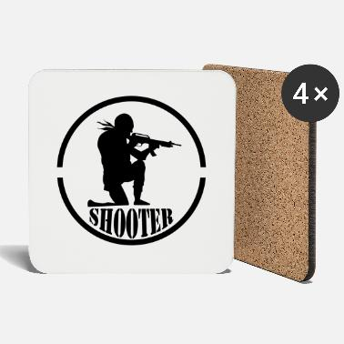 Uzi shooter 001 - Coasters