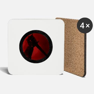 Rondel Dagger No Text - Coasters