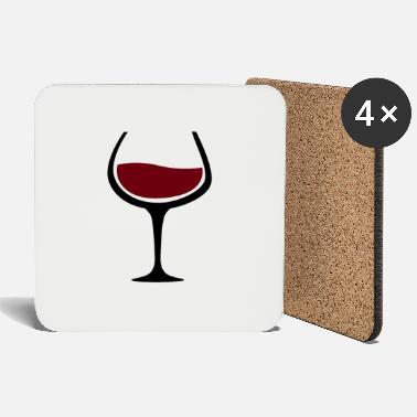 Dessous de verre Vin Rouge à commander en ligne | Spreadshirt