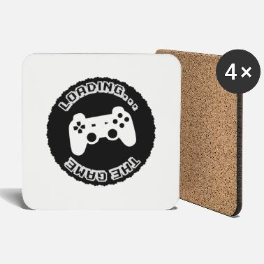 Fps Gaming gamer controller game loading - Coasters