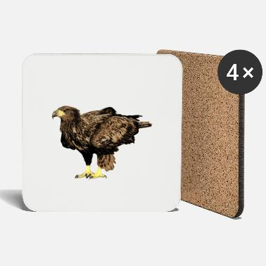 American Indian Standing eagle - Coasters