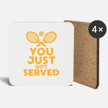Serve You just got served table tennis gift - Coasters