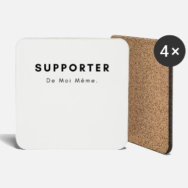 Support Supporter Of myself football supporter - Coasters