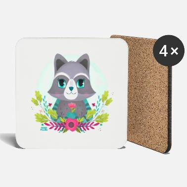 Raccoon Raccoon - Coasters