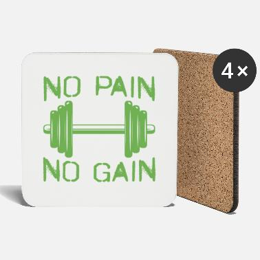 No Pain No Gain No pain no gain - Coasters