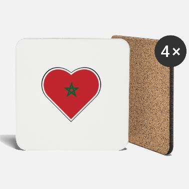 1915 My heart beats for Morocco - Coasters