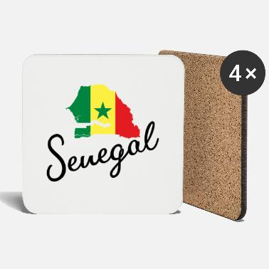 Map Senegal Map Africa Africa Map Borders map - Coasters