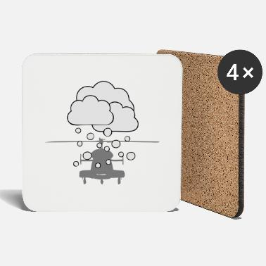 Snowfall Helicopter snowfall - Coasters