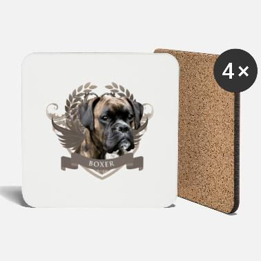 Boxer dog - Coasters