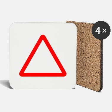 Kyltti Triangle Warning Sign - Coasters