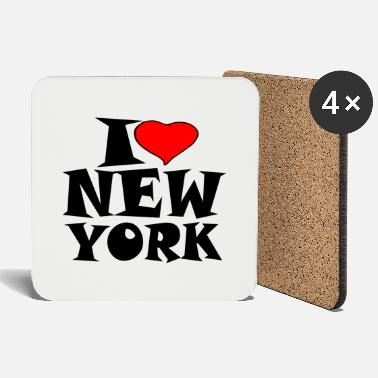 New York New York - J'aime New York - J'aime New York - Dessous de verre