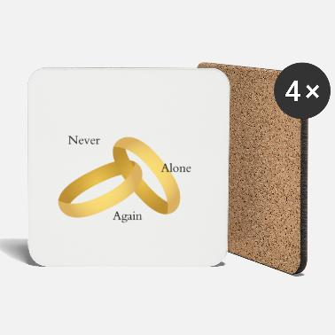 Wedding Contest Never again alone (wedding contest) - Coasters