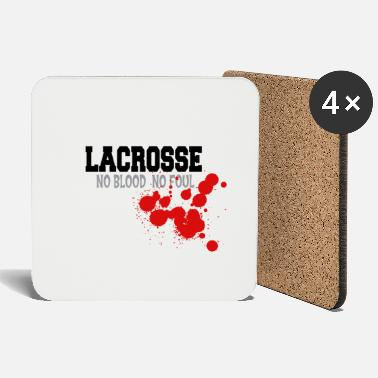 Foul Lacrosse No Blood No Foul - Coasters
