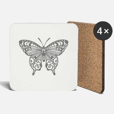 Tatoo Tatoo Butterfly - Coasters