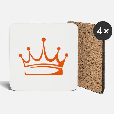 Crown to print on for hoodie, t-shirt, bag - Coasters