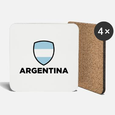 National Flag of Argentina - Coasters