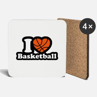 I Love Basketball I love basketball - Coasters