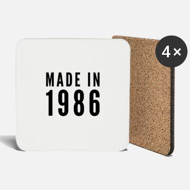 Idea Made in 1986 gift idea idea idea - Coasters