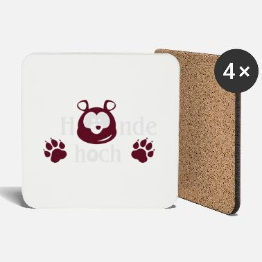 Bear Up Hands up you bear - Coasters