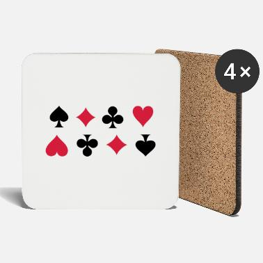 Cards Card Suits - Onderzetters