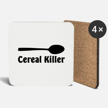 Killer Cereal Killer - Coasters