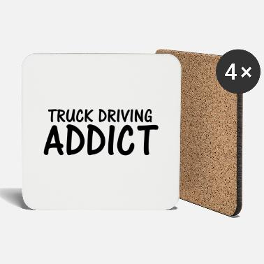truck driving addict - Coasters