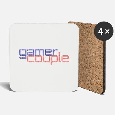 Couples Gamer Couple Couple - Coasters