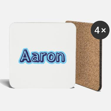 First Name Aaron name first name - Coasters