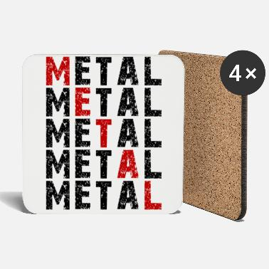 Metal Music METAL MUSIC - Coasters