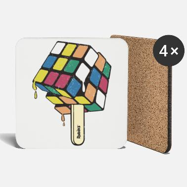 Rubik's Cube Ice Lolly - Coasters