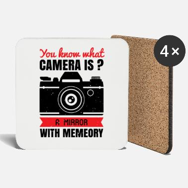 Man A mirror with memory - camera - Coasters