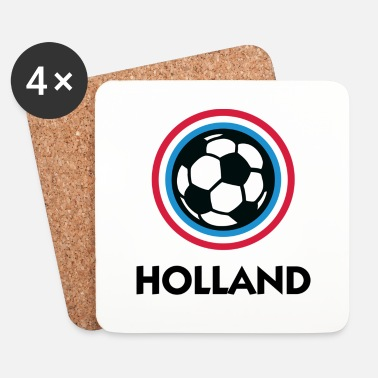 Hollande Crest Football Hollande - Dessous de verre (lot de 4)