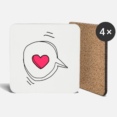 Message Love message - Coasters