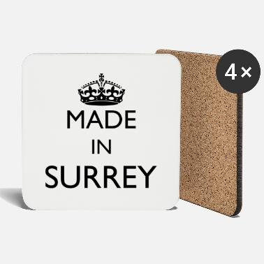 Surrey Personalise: Made In Surrey - Coasters