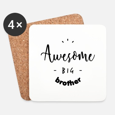 Big Awesome BIG Brother - Dessous de verre (lot de 4)