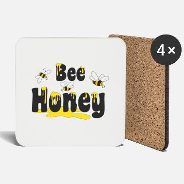 Honey Bee Bee Honey, bee honey - Coasters