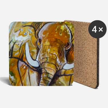 Elephant I pouring - Coasters