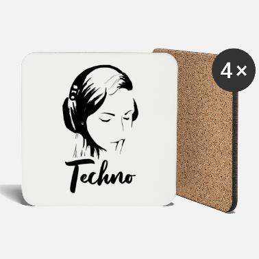 Music techno music - Coasters