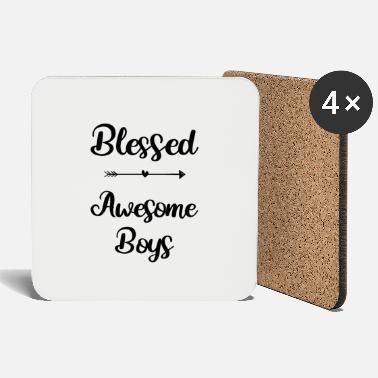Blessed Awesome Boys - Coasters
