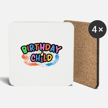 Birthday Kids Birthday Kid Birthday Party Birthday Party - Coasters