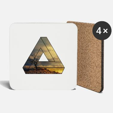 Nature Collection Nature triangle / gift / landscape - Coasters