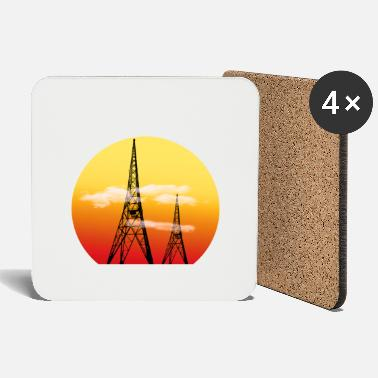 Radio Tower Radio Towers - Coasters