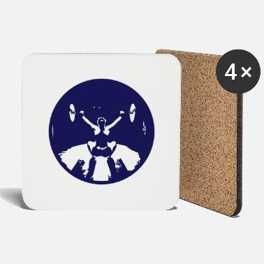 Girl Snatch Black small - Coasters
