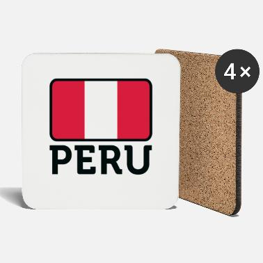 Arequipa National Flag Of Peru - Coasters