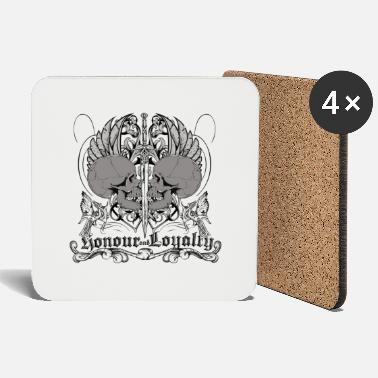 Fantasy Lines nonour and loyalty - Coasters