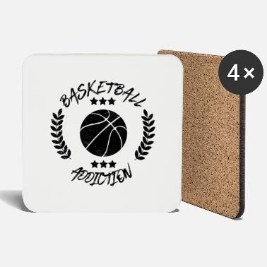 Addicted Basketball Addiction - Addict addicting ball sports - Coasters